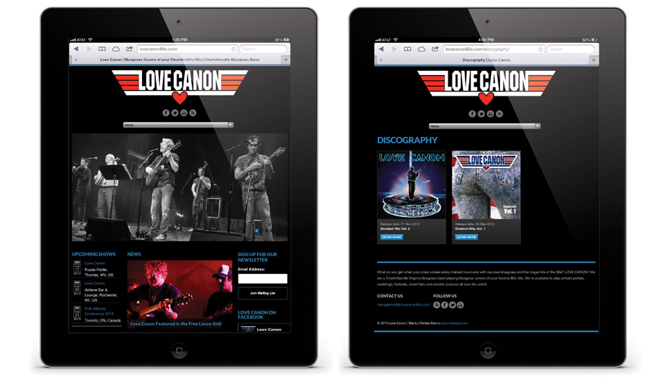 love canon website