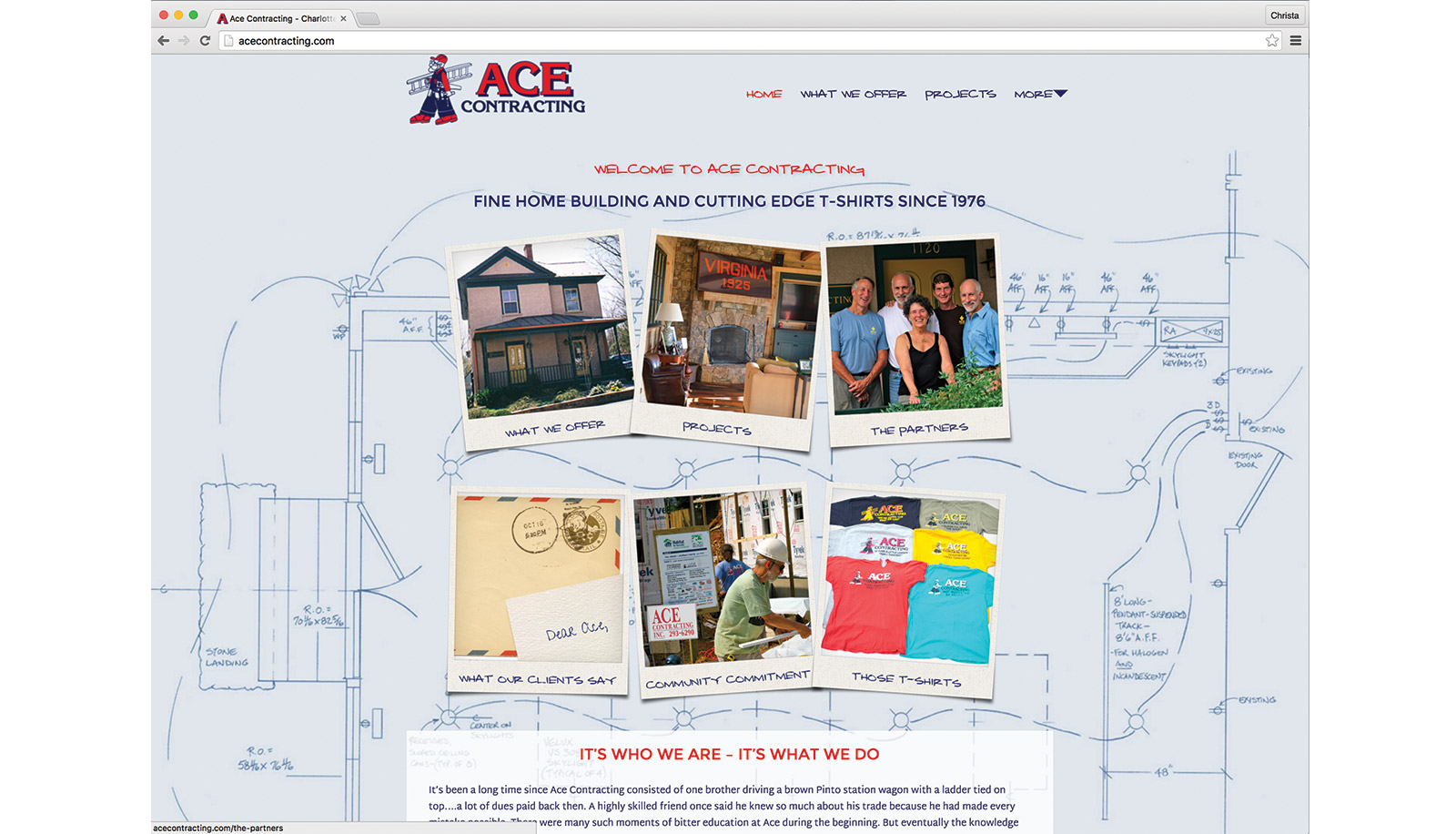 ace contracting website